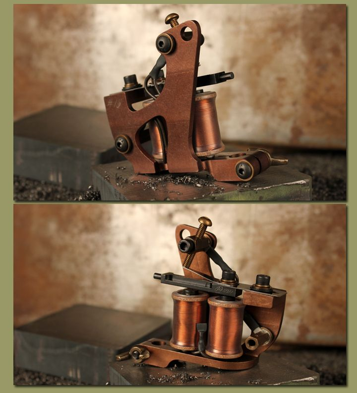 Tattoo machines cory rogers rex liner workhorse for Professional tattoo guns