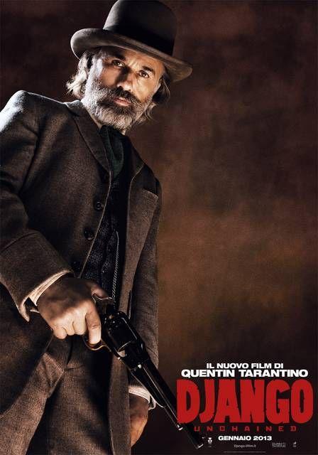 Django Unchained Christoph Waltz USA Character Poster