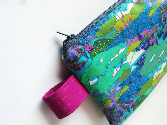 free shipping Liberty of London clutch purse Japanese style