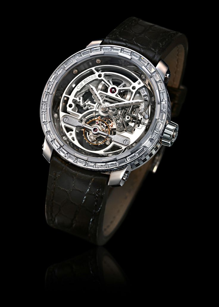 DEWITT: Twenty-8-Eight Skeleton Tourbillon High Jewelry  http://www.orologi.com/news/dewitt-per-only-watch-2013