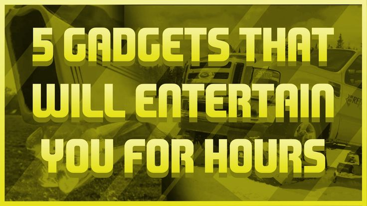 5 Gadgets that will entertain you for hours #2