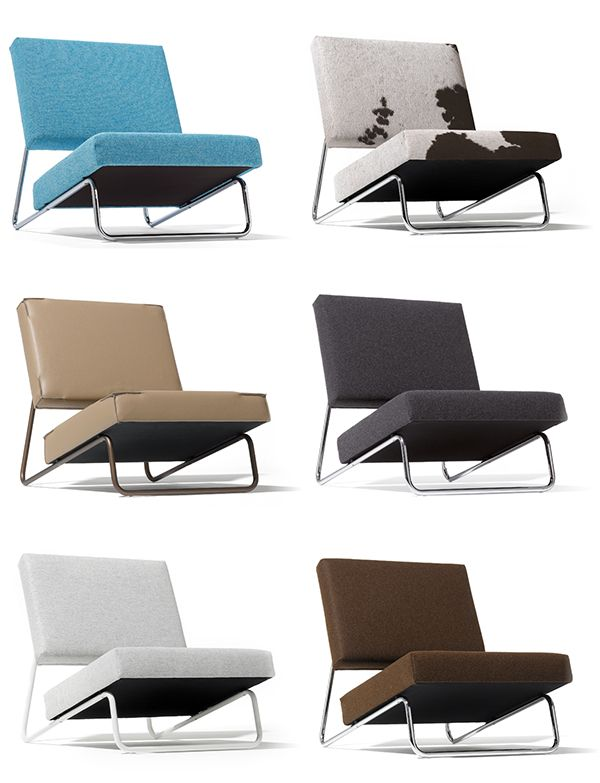 Strength is born of tranquillity – ›LOUNGE CHAIR‹ by Herbert Hirche