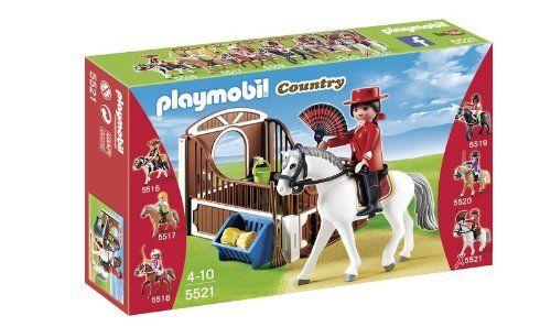 Playmobil 5521 - Paddock con Cavallo Andaluso e Fantina