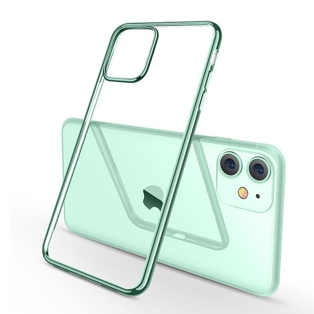 Transparent Soft Midnight Green Coqu Transparent Phone Case Beautiful Iphone Case Transparent Iphone Cover