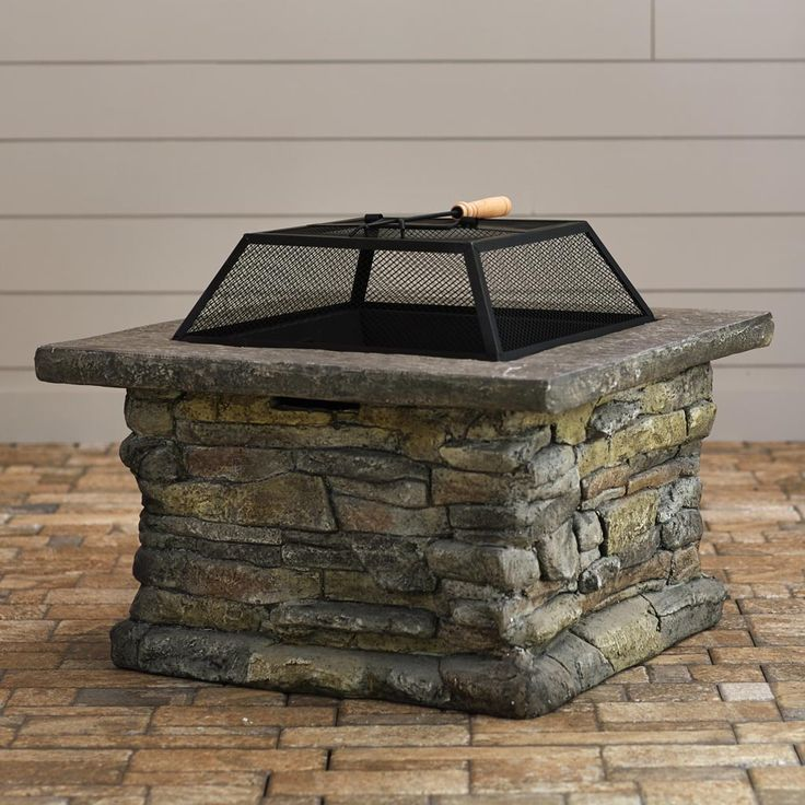 Fire Pit Screen Square