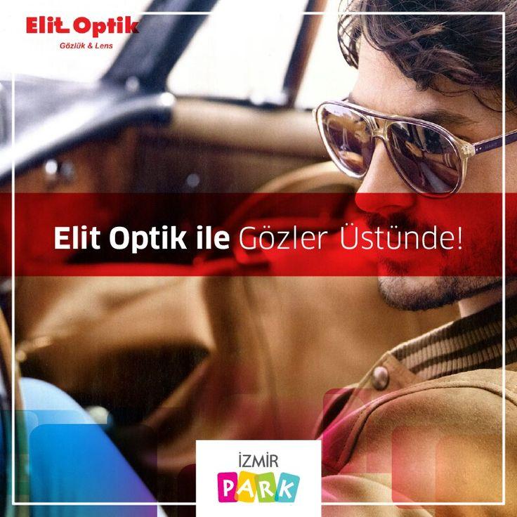 Aradığın bütün şık gözlük markaları İzmir Park Elit Optik'te seni bekliyor.