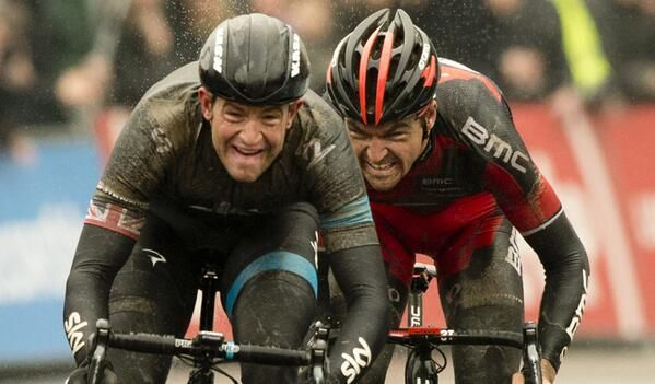 This picture pretty much says it all.  First British #OHN winner - Ian Stannard