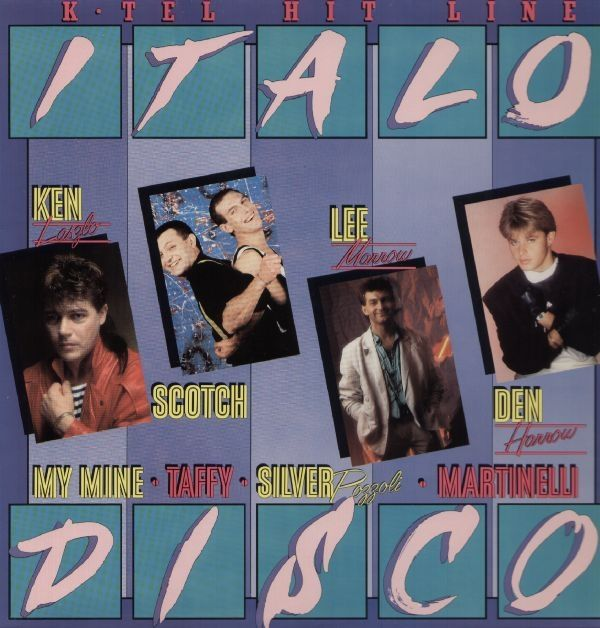 Italo Disco - Various Artists. 1986