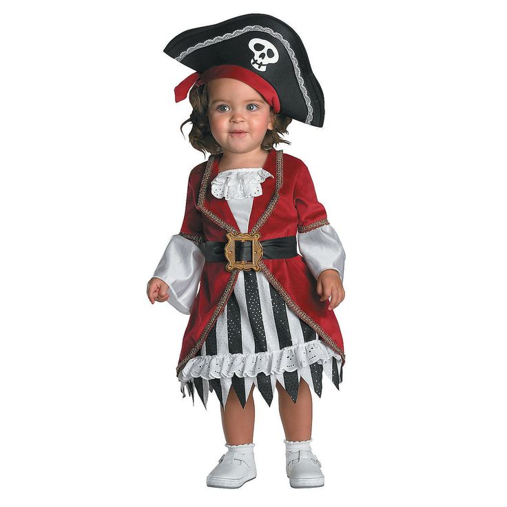 Pirate Princess Infant Girl's Costume - OrientalTrading.com