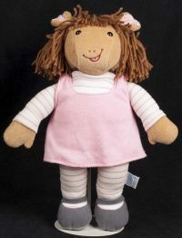 Eden Arthur's Sister DW Plush Doll Marc Brown