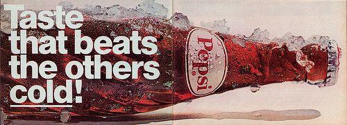 Pepsi Cola Ad 1969