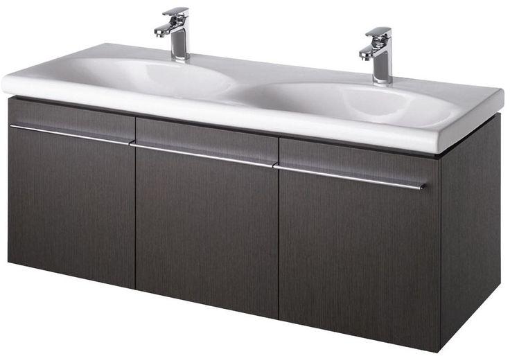 Ideal Standard Daylight 1300mm Wall Basin Unit K2216 Grey Oak