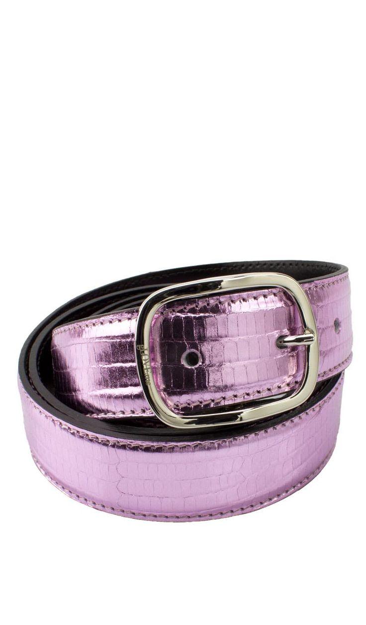 Cintura Cucita 3 CM LUCERTOLA Rosa