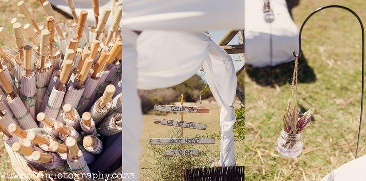 Weddings @ Bosduifklip decor