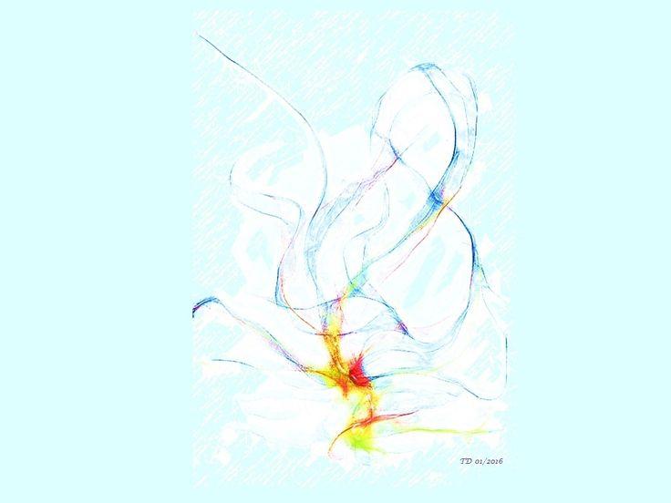 Dancing Wind abstract art.