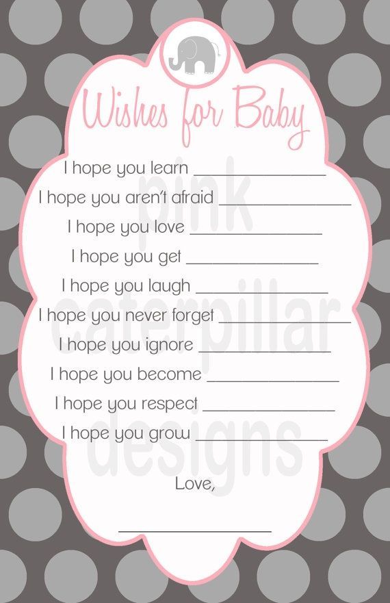 To have the siblings fill out (I know it's for a shower, but I would use it for the siblings and family to write)