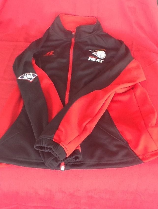 Perth Heat 2014/15 Russell Athletic Zip Jacket $75 Can be purchased on game day or contact us at 08 6336 7950 or perthheatmerch@gmail.com