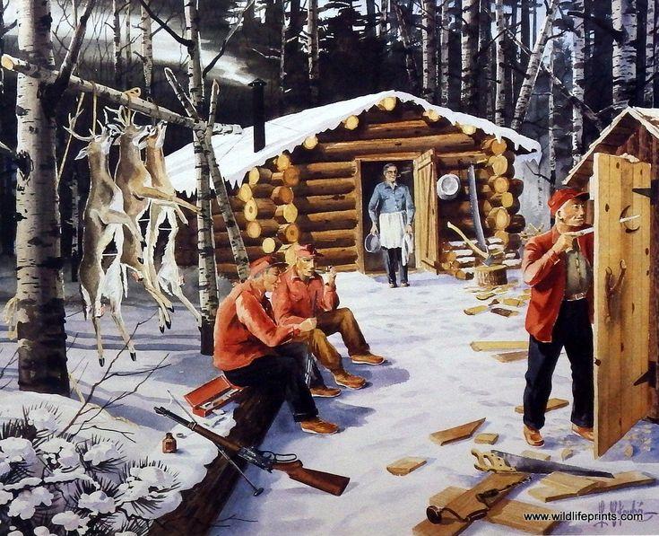Les Kouba New Plumbing At Deer Camp Camps Hunters And