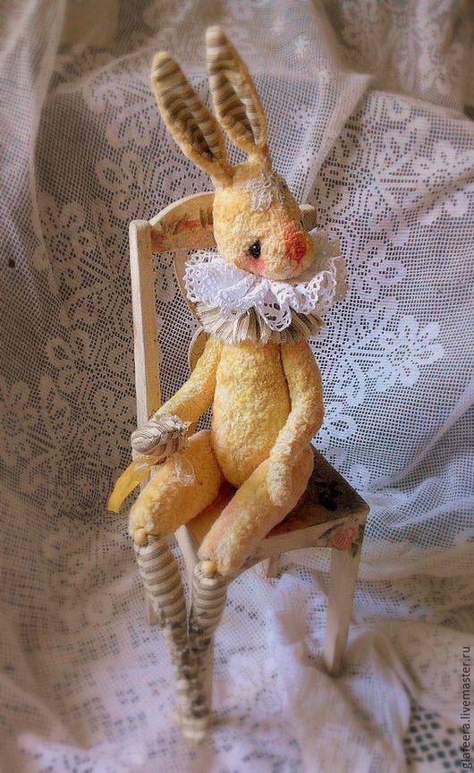 Коллекционные куклы ручной работы. Желтая Коломбина. Глафурный променад. Ярмарка Мастеров. Коломбина, лента шёлковая