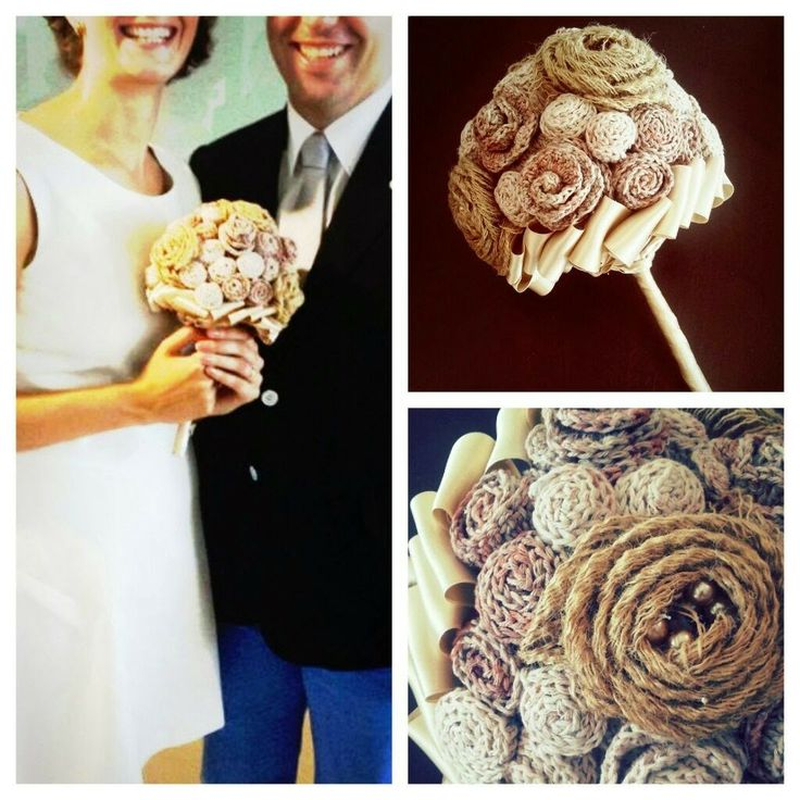 Crochet - Wedding Bouquet (July 2014)