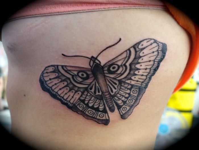 butterfly tattoo by city of ink Christchurch