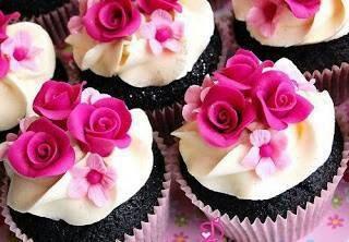 Raspberry-rosewater-cupcakes. Yum-O | Yummy! | Pinterest