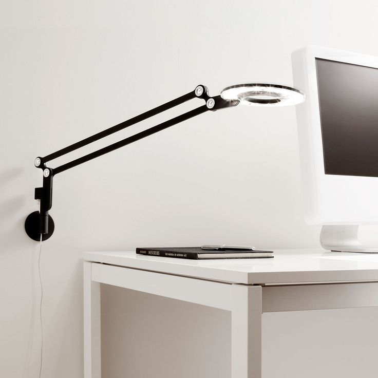 Wall Desk Lamp: Link Small - LED Wall Mount Lamp | Pablo,Lighting
