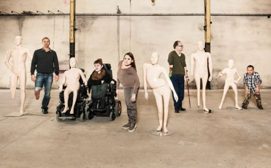 Disabled Mannequins Featured in Zurich Store Windows for International Day of Persons with Disabilities