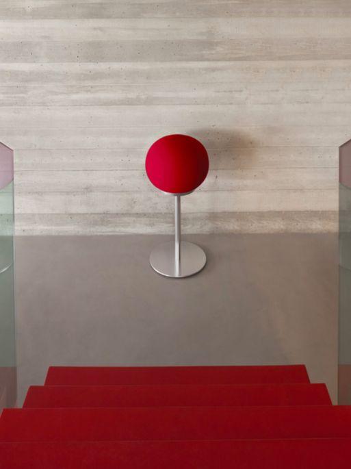 Stay tuned for the AeroSphère / Large (Red) #GenevaSound #aerosphere #minimalist #designerhome #audiophile #hifisound
