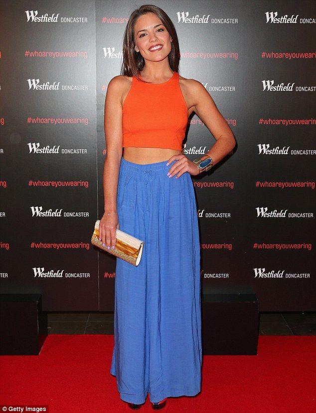 Natural beauty: The 21-year-old is best known for portraying feisty Paige Smith on Australian soap Neighbours