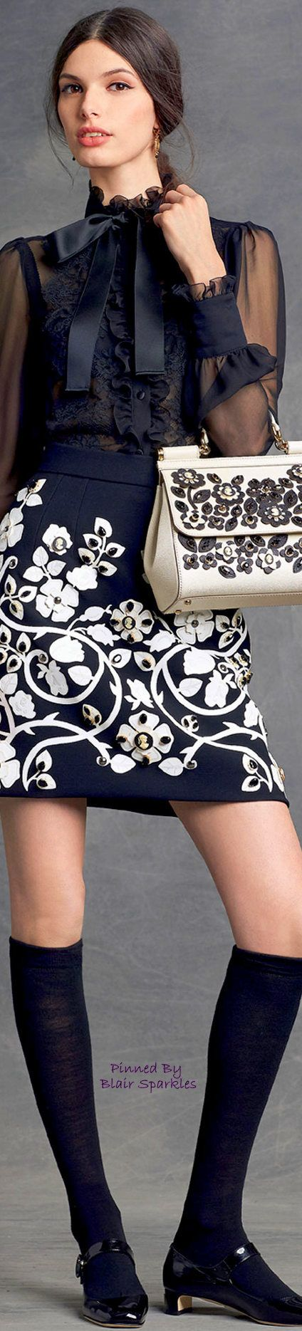 DOLCE AND GABBANA WINTER 2016 ♕♚εїз | BLAIR SPARKLES |
