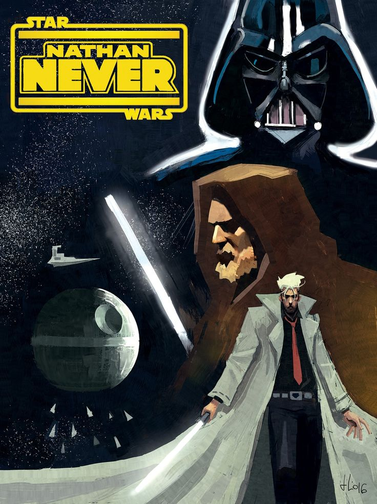 Giulio Rincione presenta: Nathan Never in Star Wars