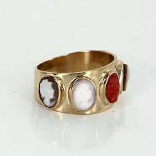 Image result for gold pinky ring womens vintage