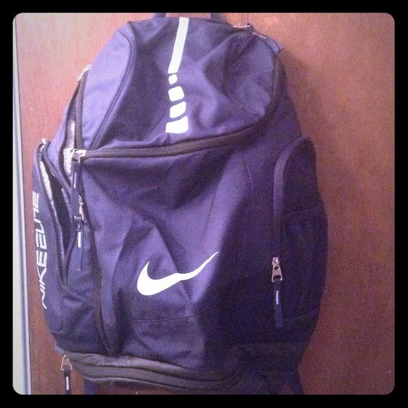 Nike Elite Backpack Blue Nike backpack. Used once. Too big for what I needed it for. Great condition! Will put up more pictures upon request. Nike Bags Backpacks