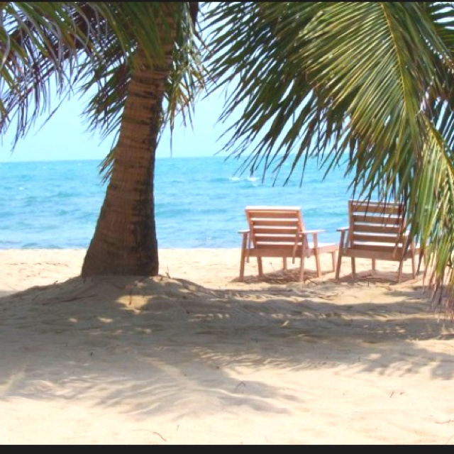 Belize....view from my retirement    bungalow...........hopefully... as long as the cost of living stays what it is down there.