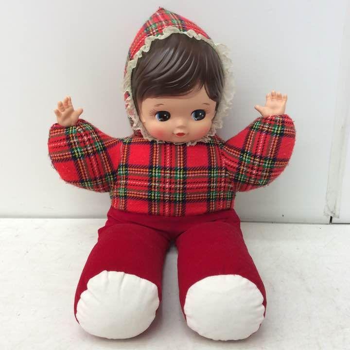 昭和レトロ 赤ん坊 赤ちゃん ぬいぐるみ 人形 抱き人形 ベビー人形 ビンテージ ヴィンテージ_画像1