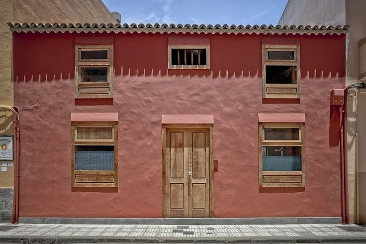 We always wanted a pink house...