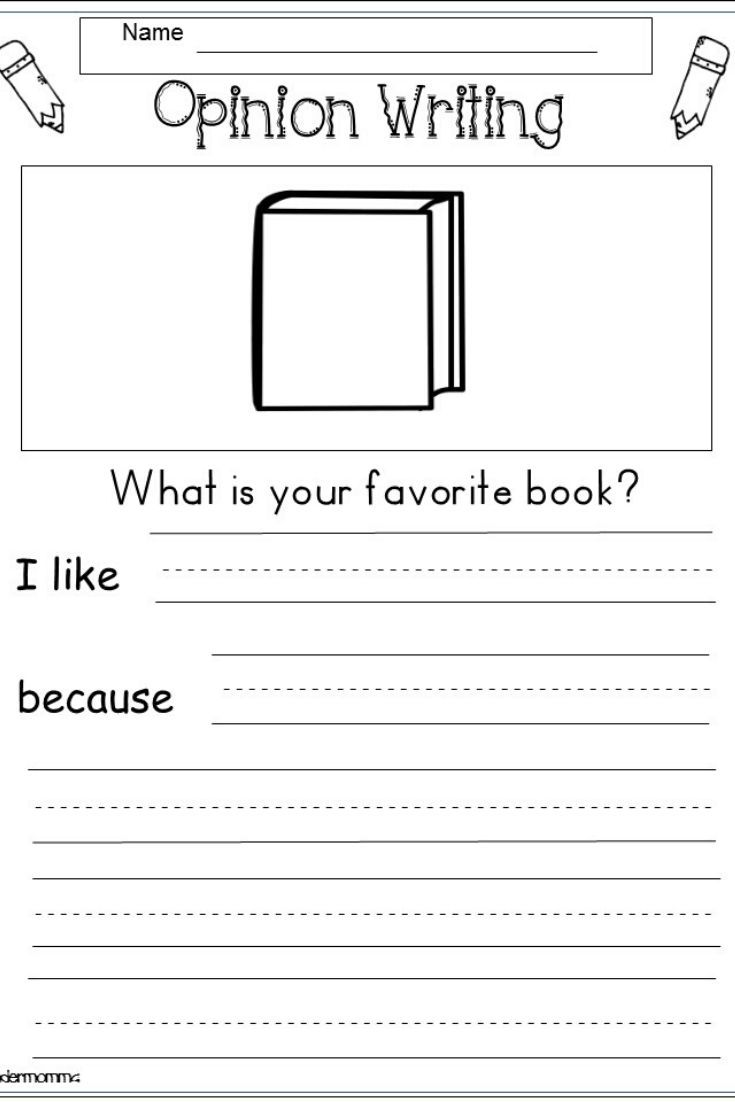 Kindergarten Writing Worksheets For January Kindermomma Com Opinion Writing Kindergarten Kindergarten Writing Writing Worksheets