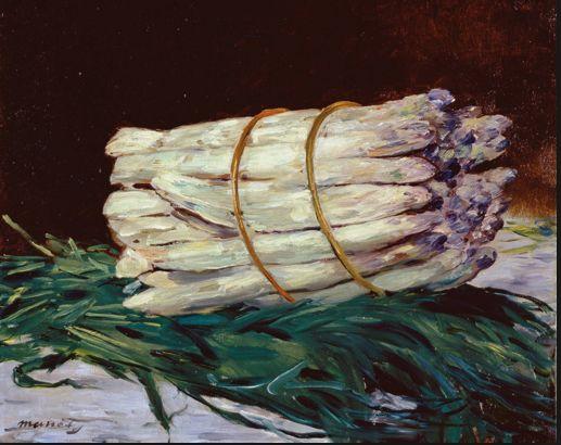 Edourard Manet Asparagus