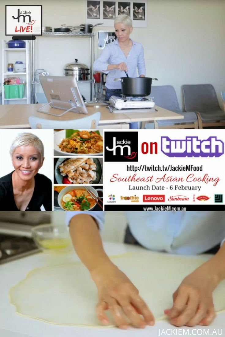 If you want to learn more about Asian and Southeast Asian Cooking, follow Jackie M LIVE on Twitch.tv/JackieMFood. Launching soon!