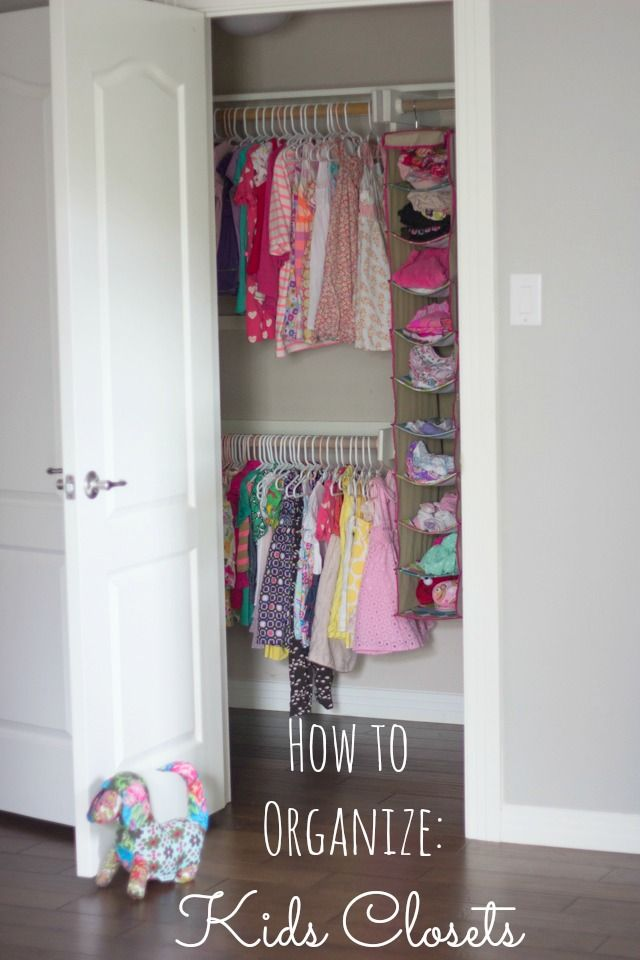 How To Organize Kids Bedroom Closets