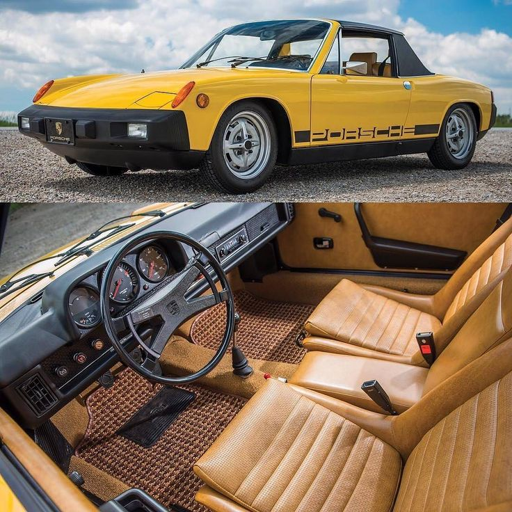 from @classiccarchasers -  1975 Porsche 914 1.8  @DarinSchnabel  This Porsche 914 can be your long lost pal. You can call it Betty you can call it Al just dont call it a VW. Since over the last few years the 914 has done a remarkable job of shedding its image as a VW cast away to become a highly desirable collectable. And the example offered here is perhaps one of the finest in existence since until recently it spent its entire life in a Porsche dealers showroom. Originally it was imported…