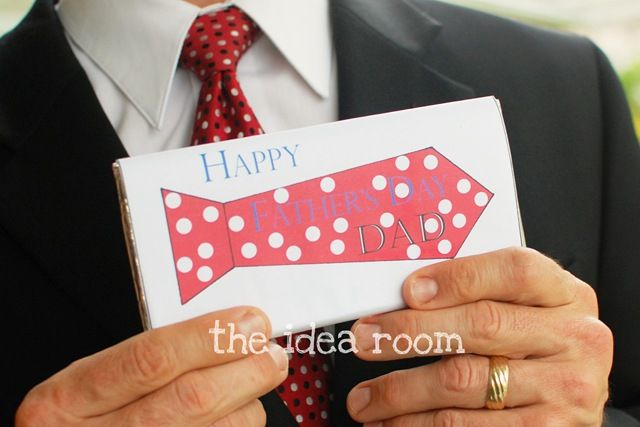 Father's Day Candy Bar Wrappers Free Printables via Amy Huntley