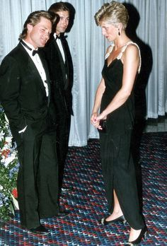 The Princess got chatting to Kurt at the royal premiere of his film Backdraft…