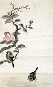 Výsledok vyhľadávania obrázkov pre dopyt japonská malba na hedvábí