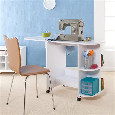 Boston Loft Furnishings Sewing Table Craft Room Furniture