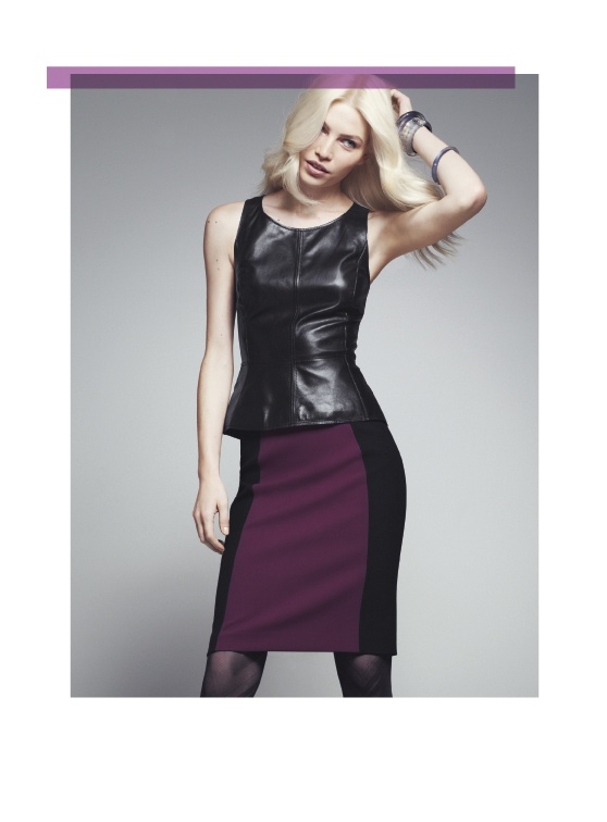 Halogen Peplum Top & Color-Blocked Pencil Skirt #Nordstrom: Colorblock Skirts, Fall Wardrobes, Tops Pencil, Style, Color Blocks, Leather Tops, Halogen Leather, Leather Peplum Tops, Halogen Seam Pencil Skirts Jpg
