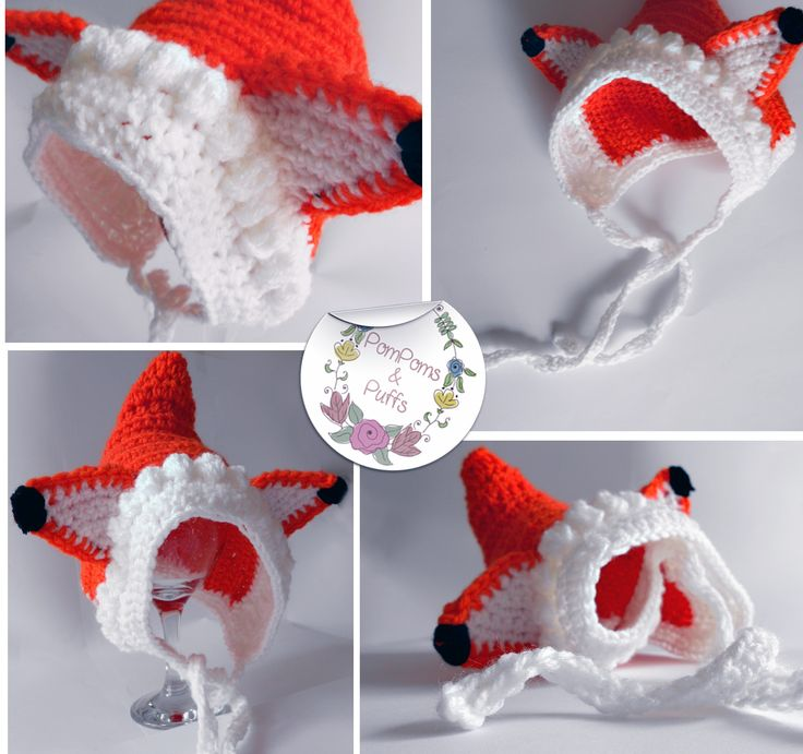 Fox Bonnet newborn photography prop would work perfectly in a woodlands themed shoot.