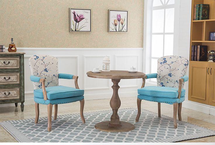Европейский Американский стиль твердой древесины обеденный стул ретро старый стиль кресло согласования Повседневная кафетерий Заведует Кафедрой купить на AliExpress