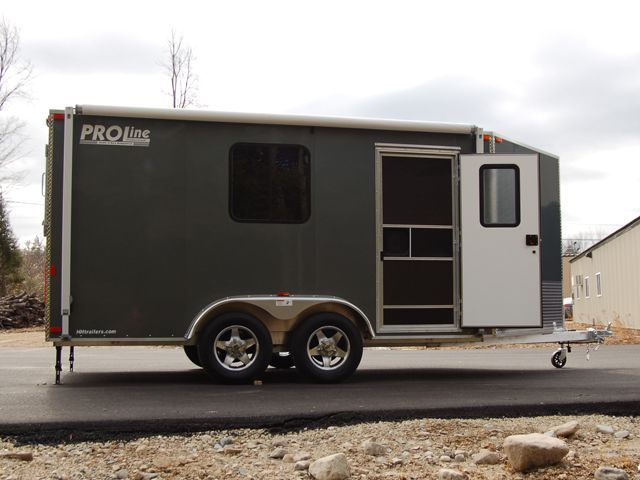 trailer life on Pinterest | Toy Hauler, Trailers and Utility Trailer